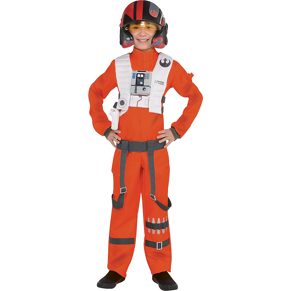 Poe Dameron Kids Costume