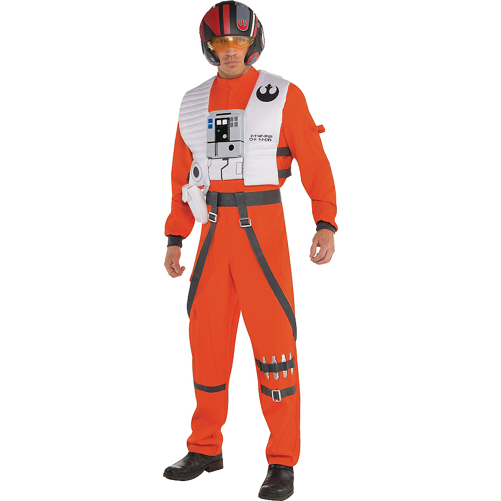Adult Poe Dameron Costume - Star Wars 7 The Force Awakens Image #1