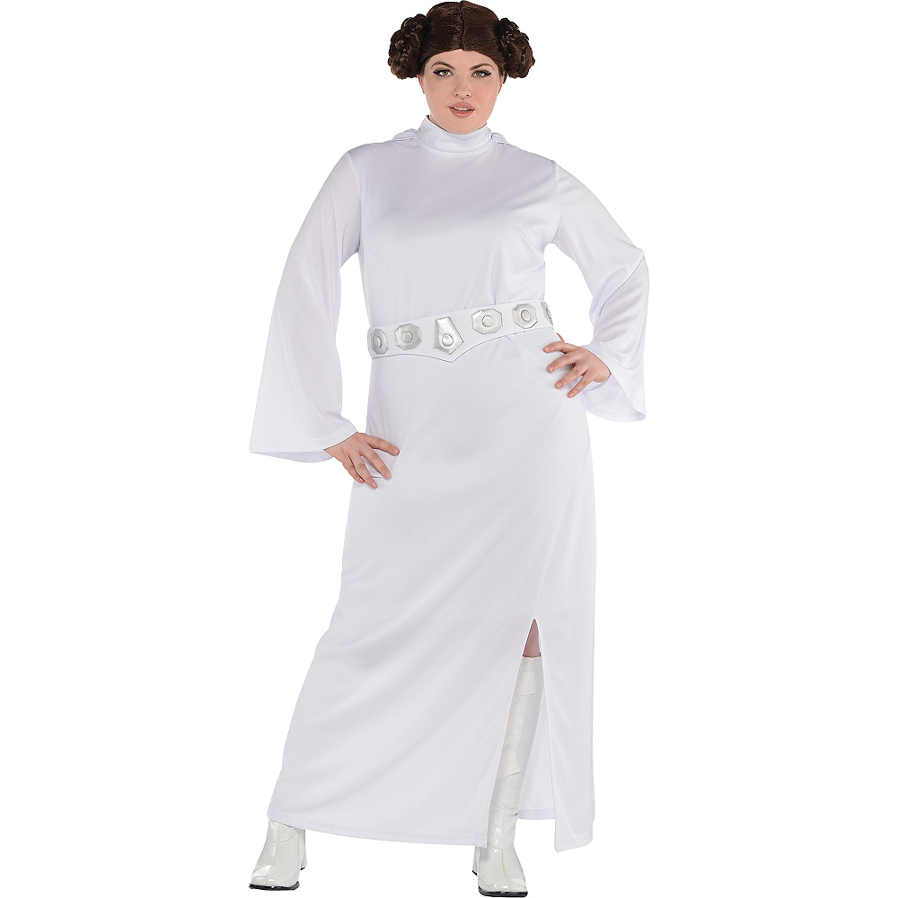 d49b7325126 Adult Princess Leia Costume Plus Size - Star Wars Image  1 ...