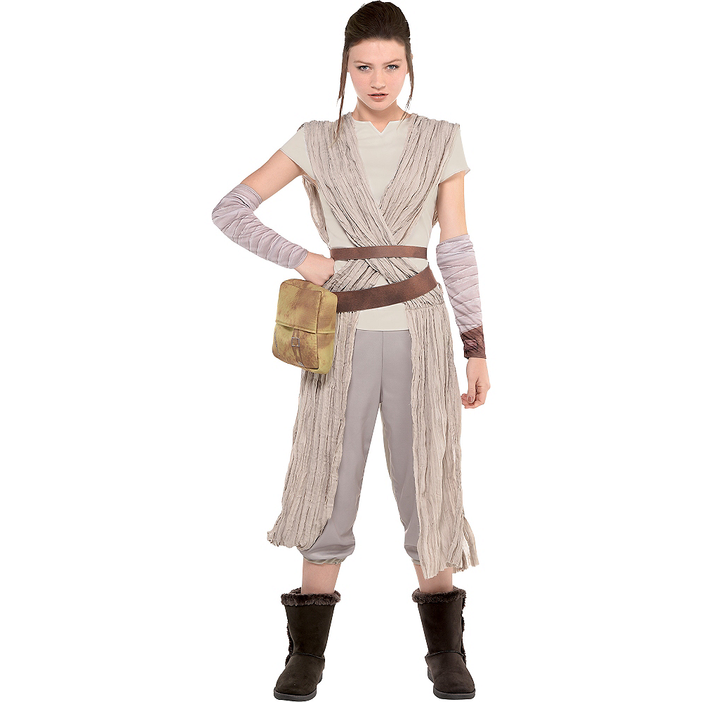 Nav Item for Adult Rey Costume - Star Wars 7 The Force Awakens Image #1