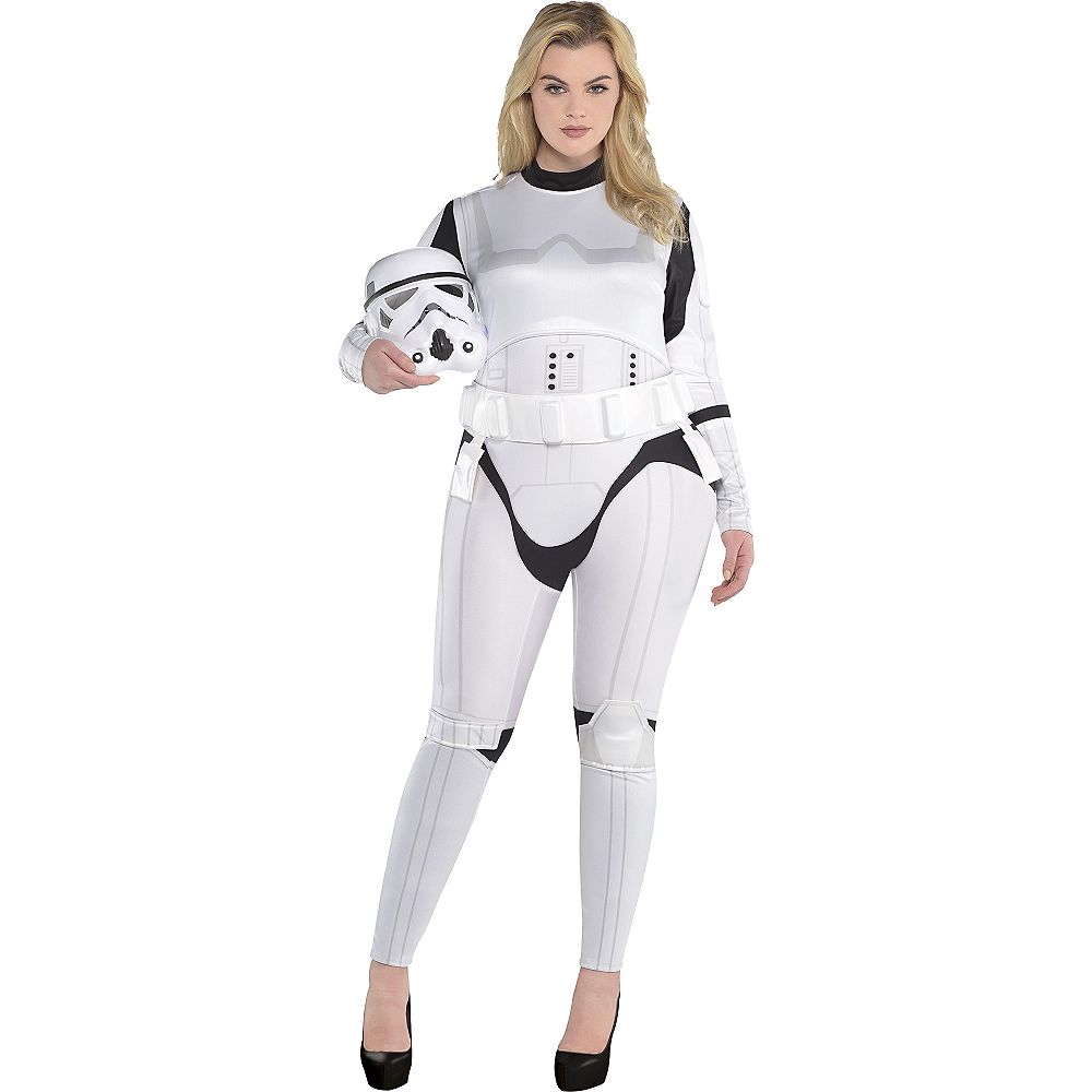 Star Wars Halloween Costumes.Adult Stormtrooper Costume Plus Size Star Wars