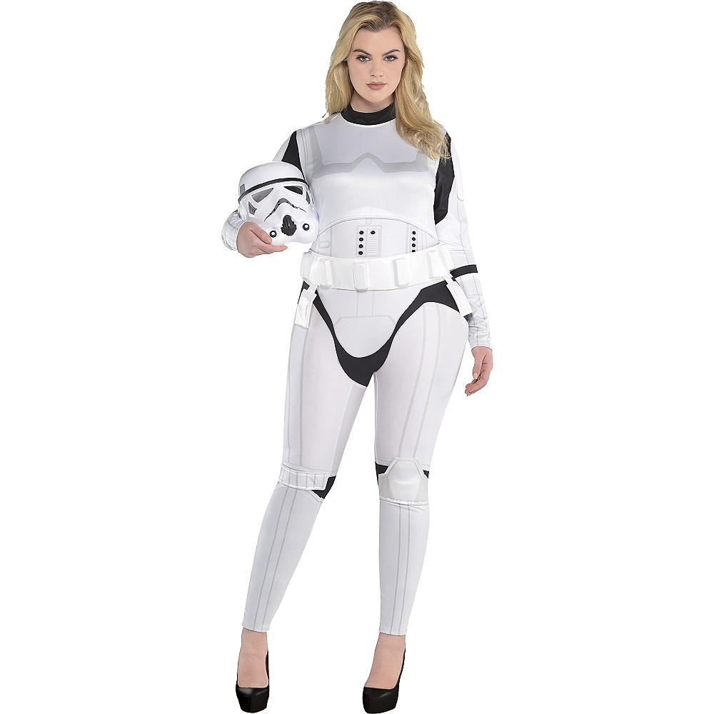 Adult Stormtrooper Costume Plus Size - Star Wars Image #1