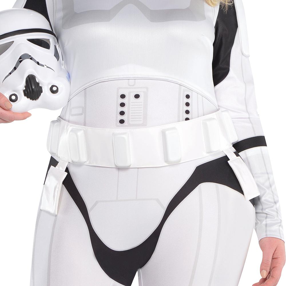 Adult Stormtrooper Costume Plus Size - Star Wars Image #3
