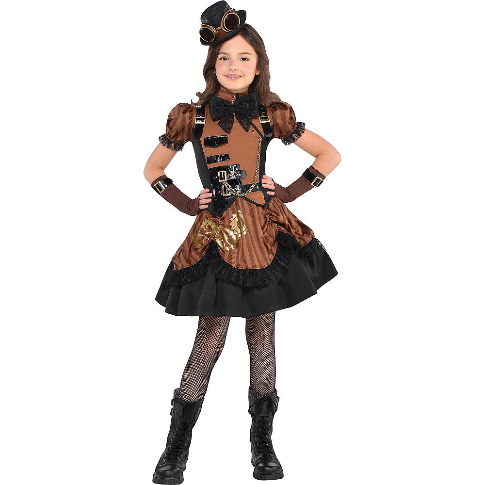 Girls Steampunk Costume Image #1