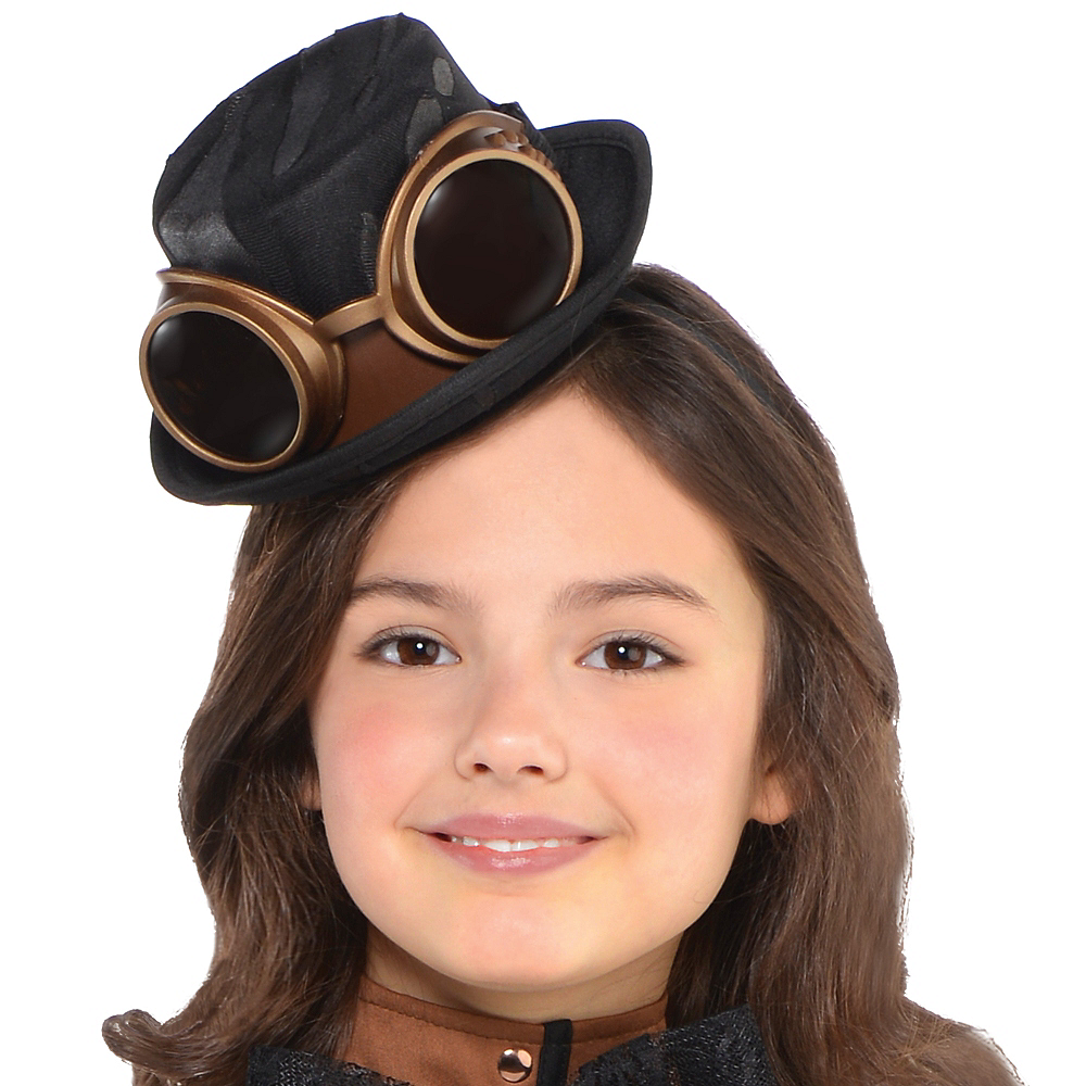 Girls Steampunk Costume Image #2