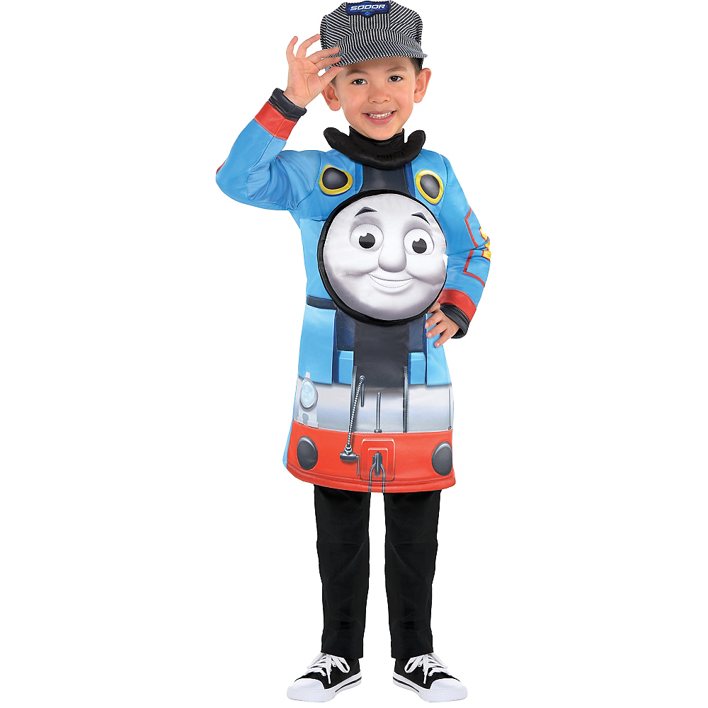 671042fc3 Nav Item for Toddler Boys Thomas the Tank Engine Costume Image #1 ...