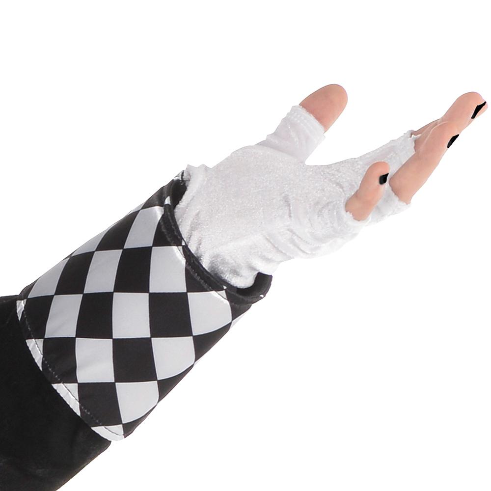 Adult Black & White Mad Hatter Costume Image #4