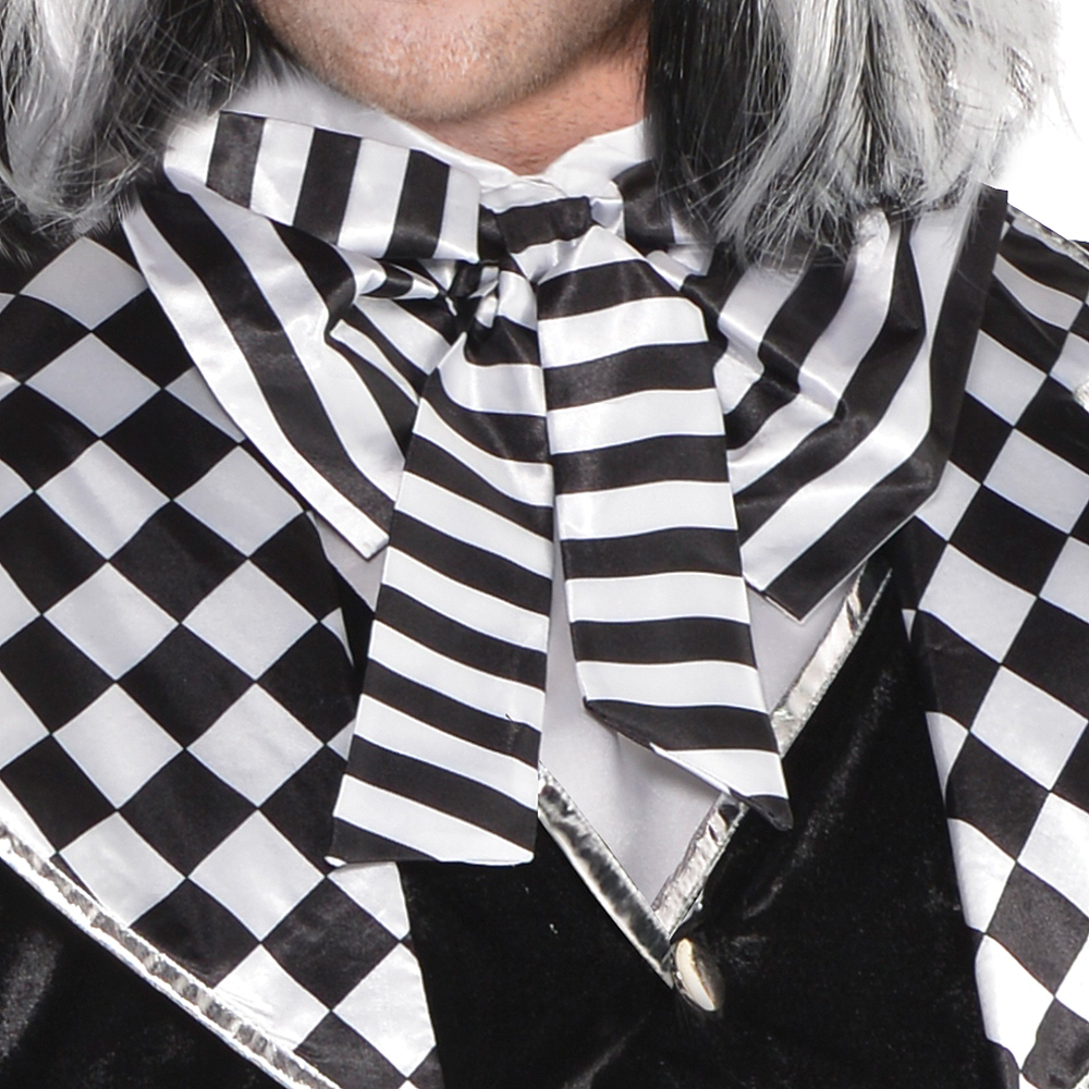 Adult Black & White Mad Hatter Costume Plus Size Image #3