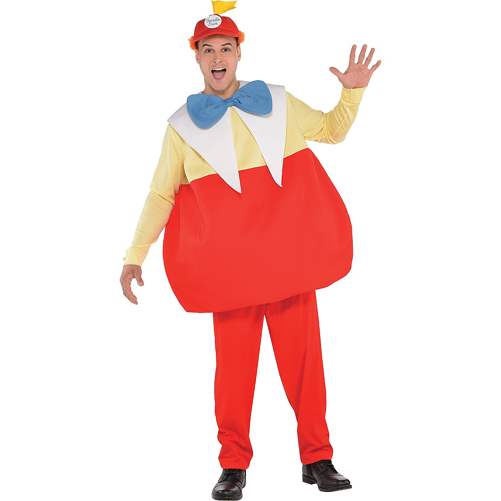 Adult Tweedledee & Tweedledum Costume - Alice in Wonderland Image #1