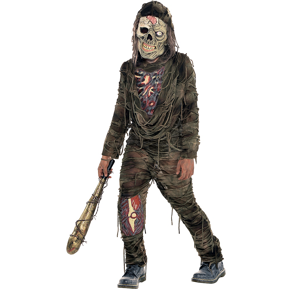 Boys Creepy Zombie Costume Image #1