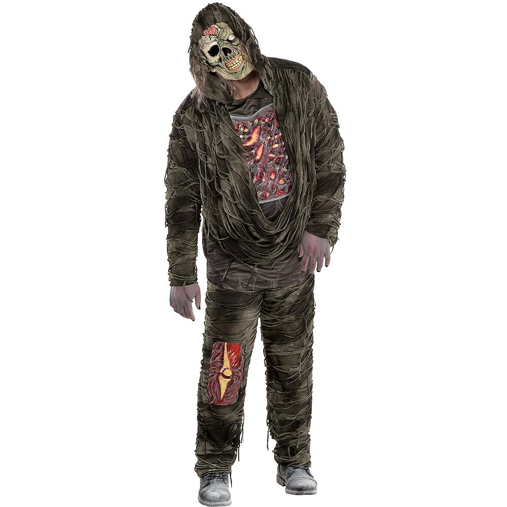 Adult Creepy Zombie Costume Plus Size Image #1
