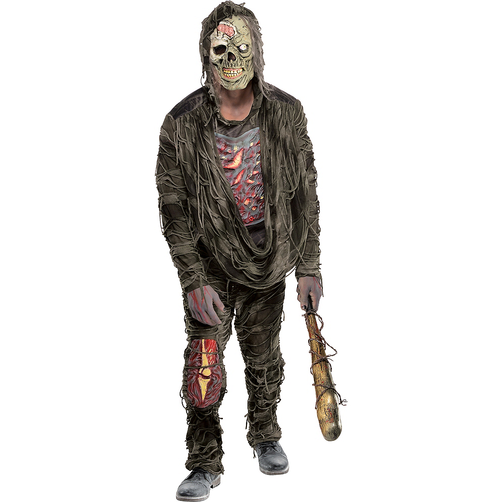 Nav Item for Adult Creepy Zombie Costume Image #1