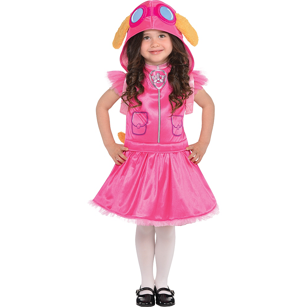 Nav Item for Girls Skye Costume - PAW Patrol Image #1