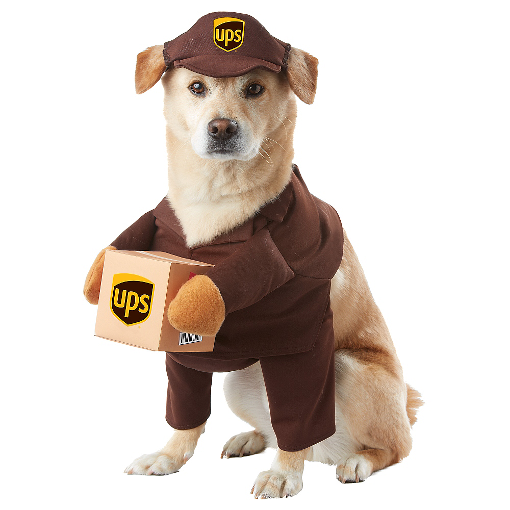 Nav Item for UPS Driver Dog Costume Image #1