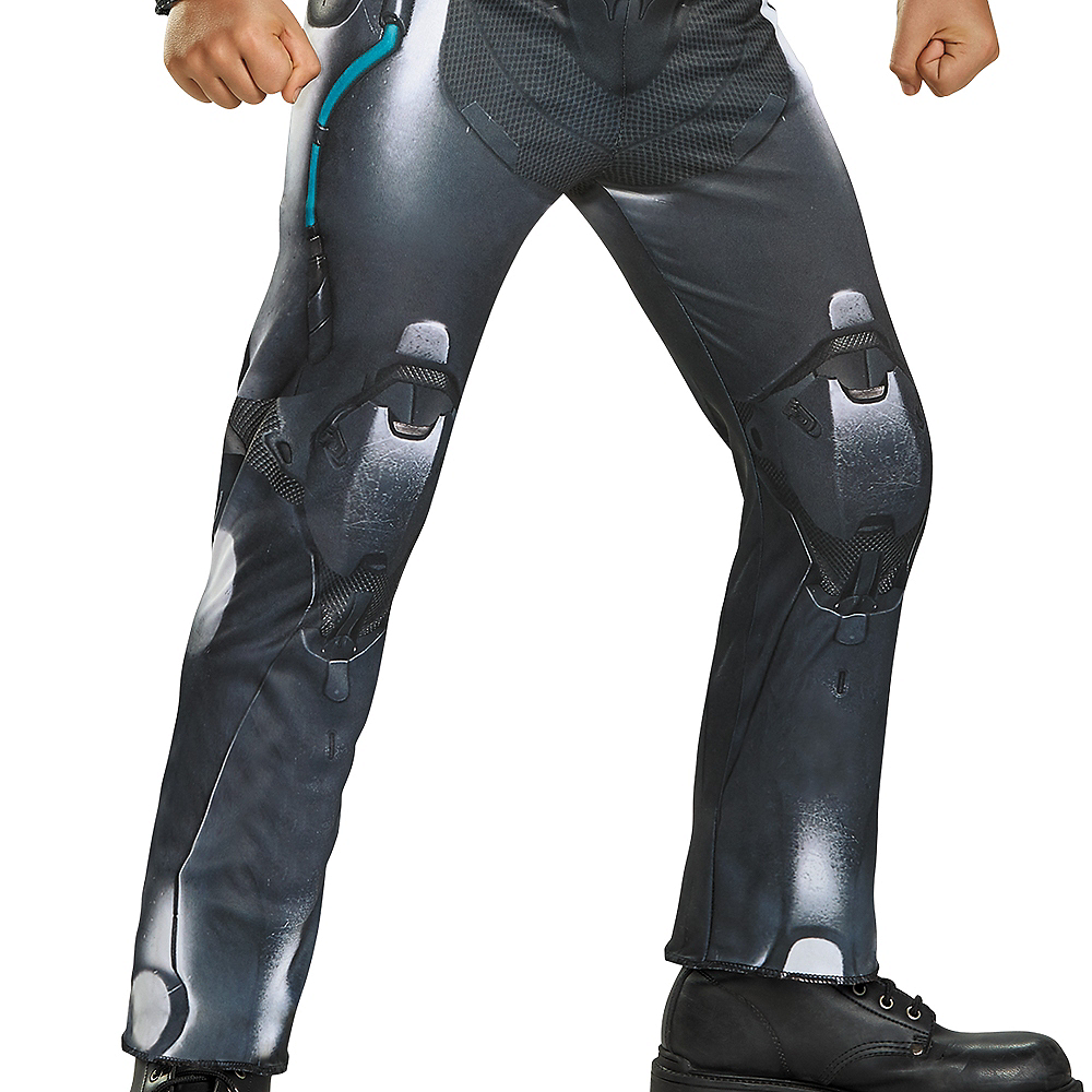 Nav Item for Boys Halo Spartan Locke Muscle Costume - Halo Image #4