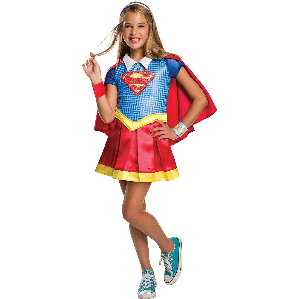Girls Supergirl Costume - DC Super Hero Girls Image #1