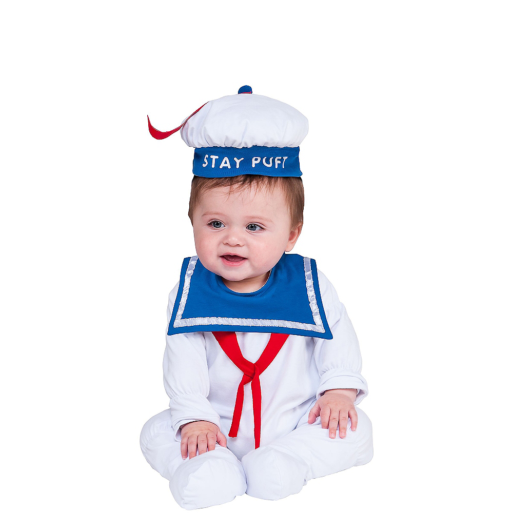 Baby Stay Puft Marshmallow Man Costume - Ghostbusters Image #1
