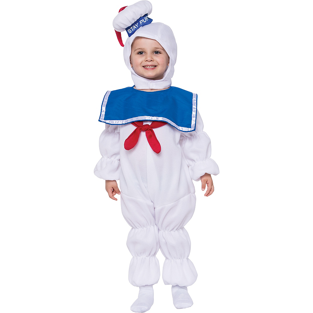 nav item for toddler boys stay puft marshmallow man costume ghostbusters image 1