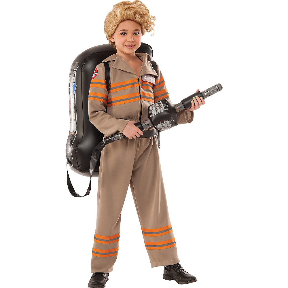 Girls Ghostbuster Costume Image #1