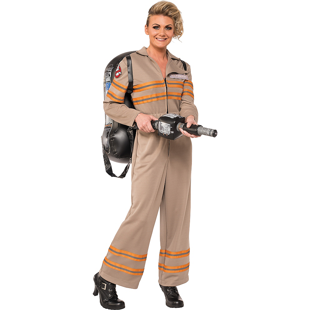 Adult Ghostbuster Costume Image #1