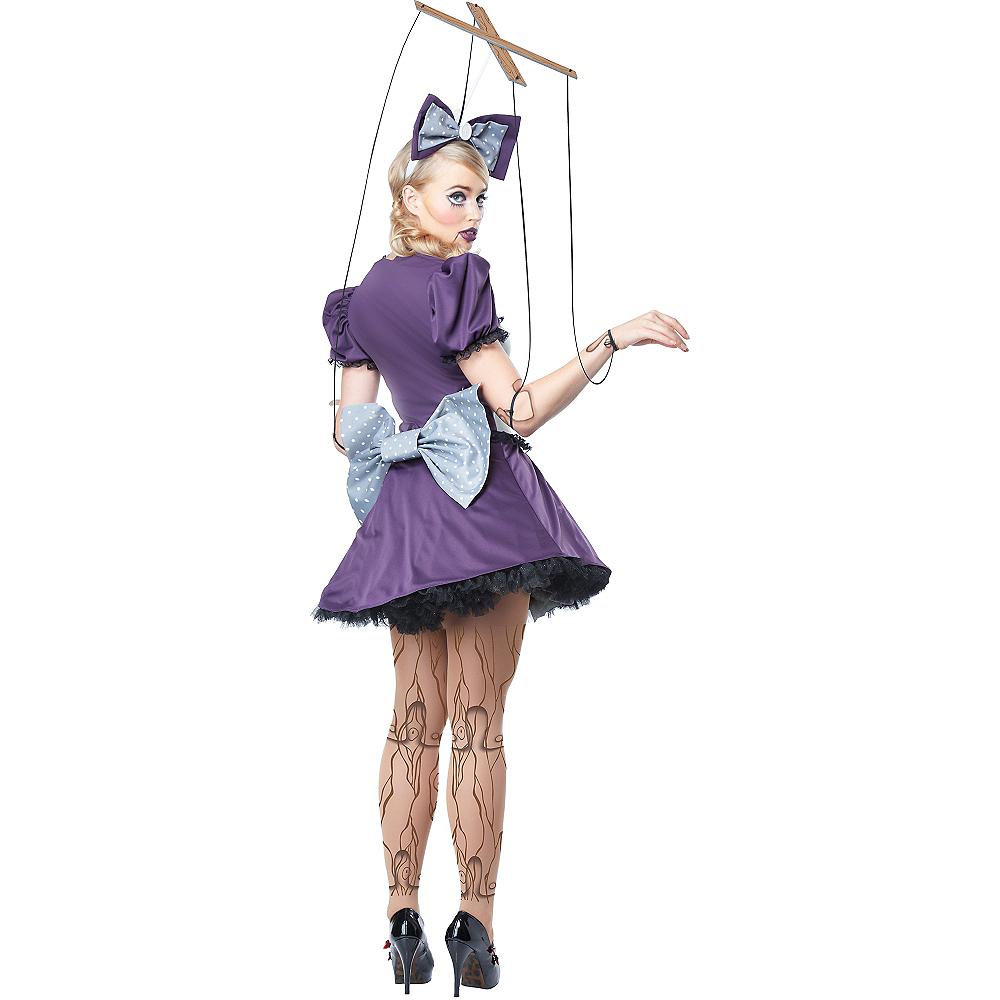 Adult Purple Marionette Costume Image #2