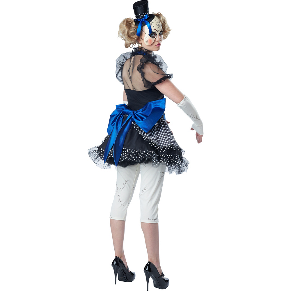 Adult Twisted Doll Costume Image #2