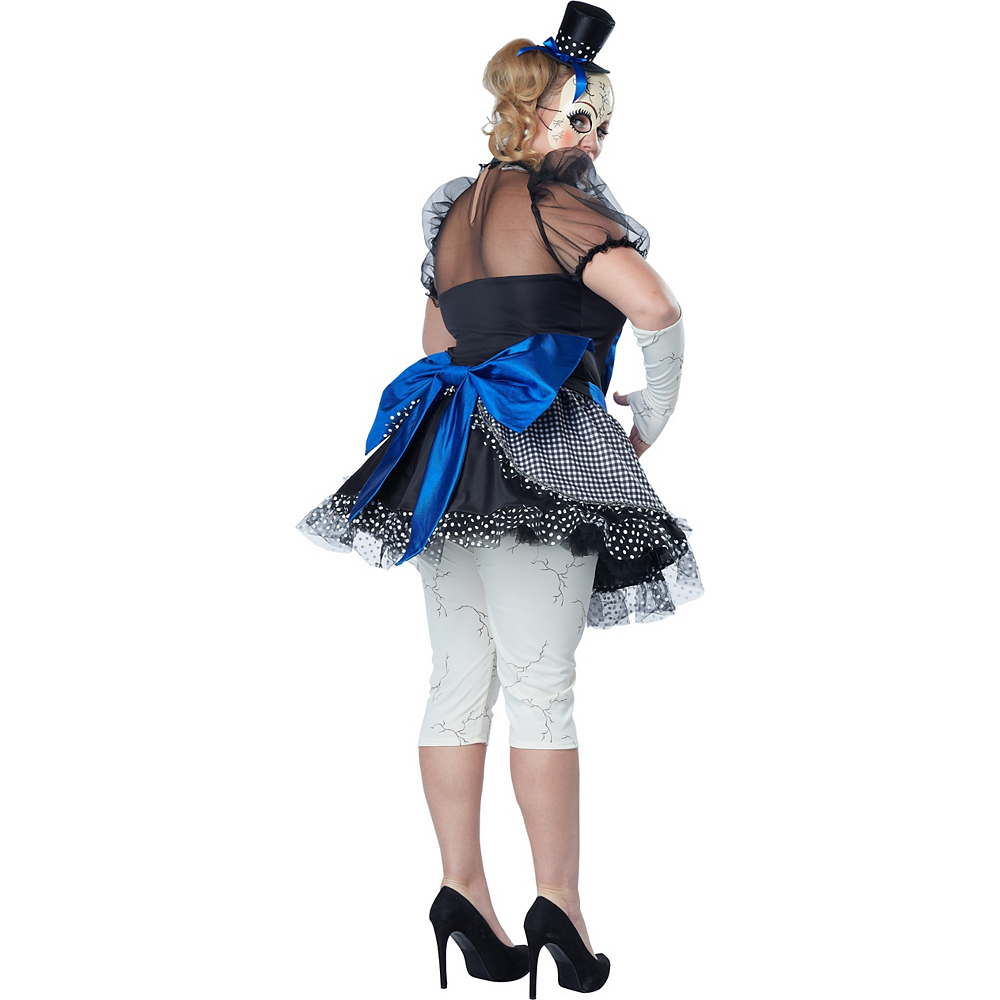 Adult Twisted Doll Costume Plus Size Image #2