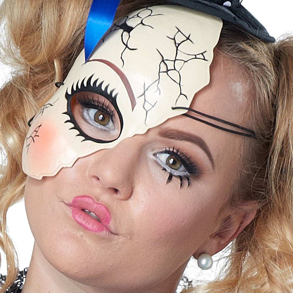 Adult Twisted Doll Costume Plus Size Image #4