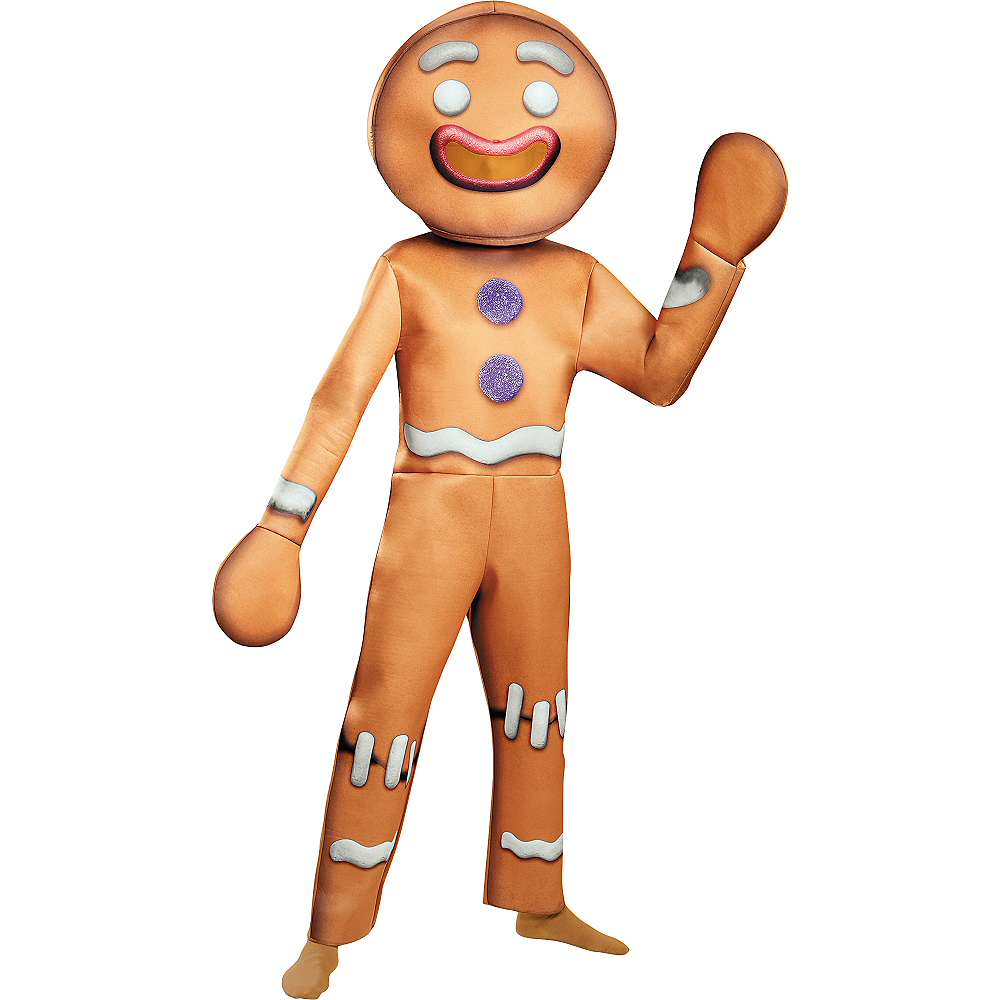 Adult Gingy the Gingerbread Man Costume - Shrek | Party City