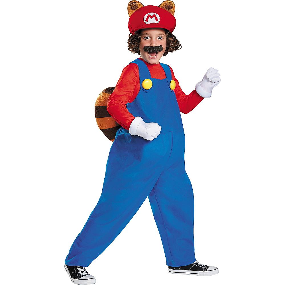Boys Raccoon Mario Costume - Super Mario Image #1
