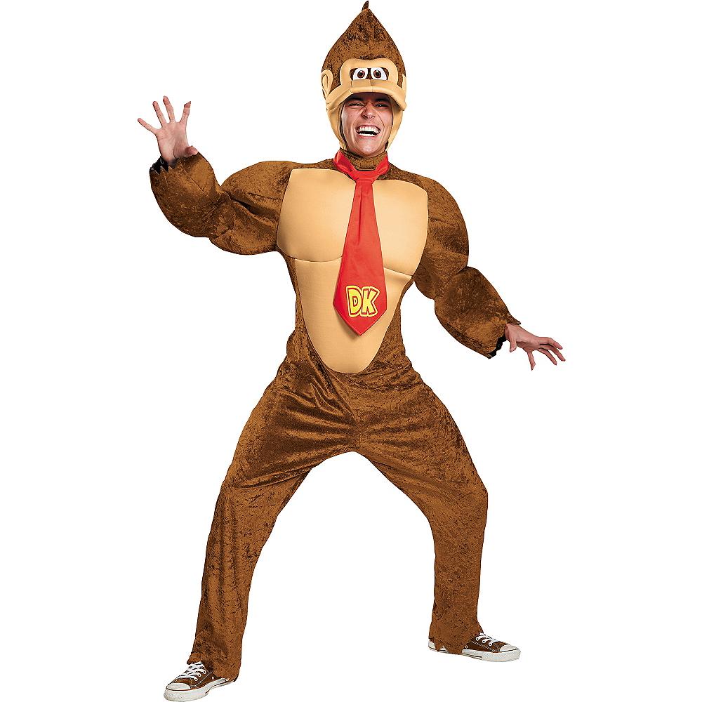 Adult Donkey Kong Costume - Super Mario Image #1
