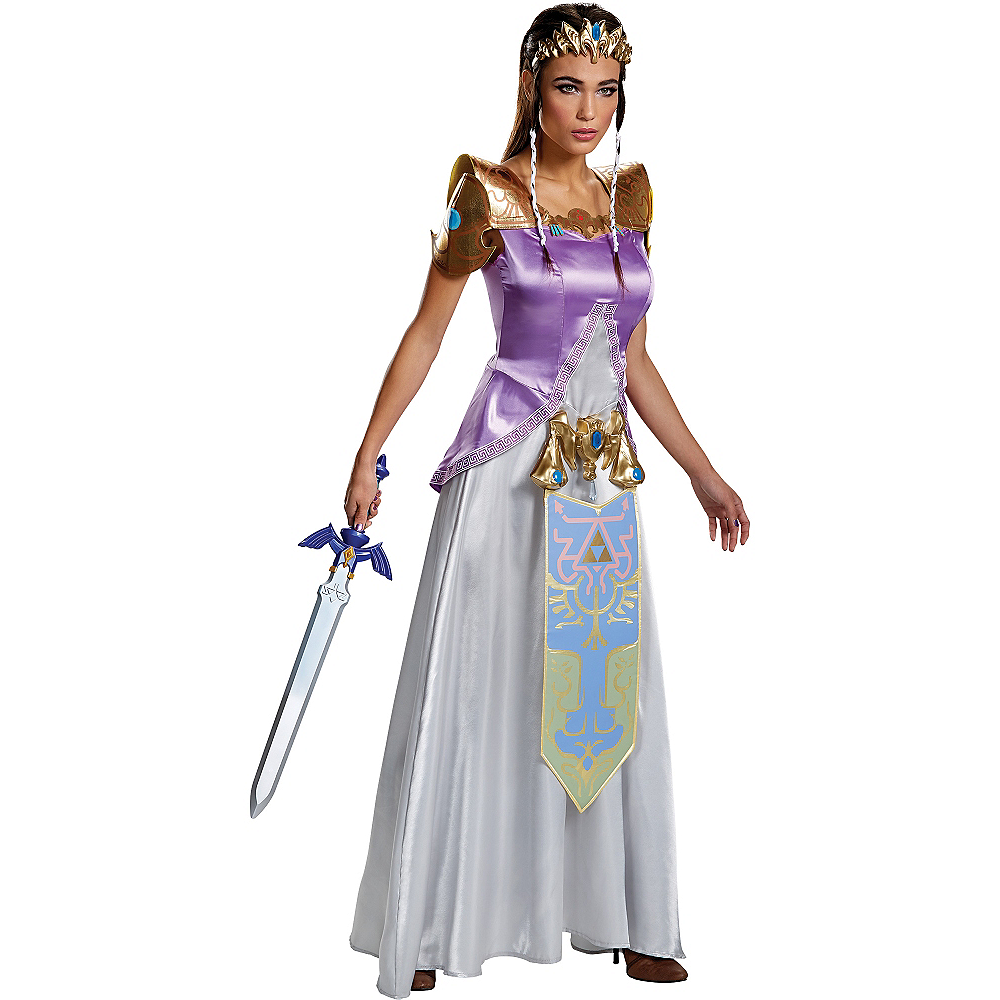 Nav Item for Adult Zelda Costume - Nintendo The Legend of Zelda Image #1