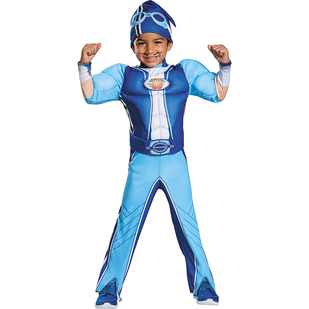 Nav Item for Toddler Sportacus Muscle Costume - LazyTown Image #1