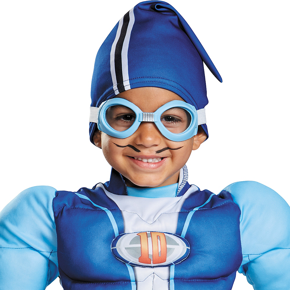 Nav Item for Toddler Sportacus Muscle Costume - LazyTown Image #2