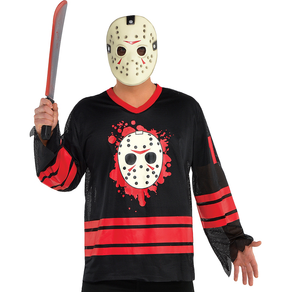 Halloween Costume Jason Friday 13th.Adult Jason Voorhees Accessory Kit Friday The 13th