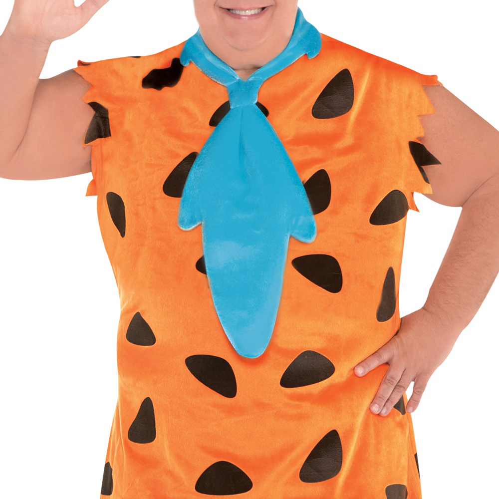 Adult Fred Flintstone Costume Plus Size - The Flintstones Image #3