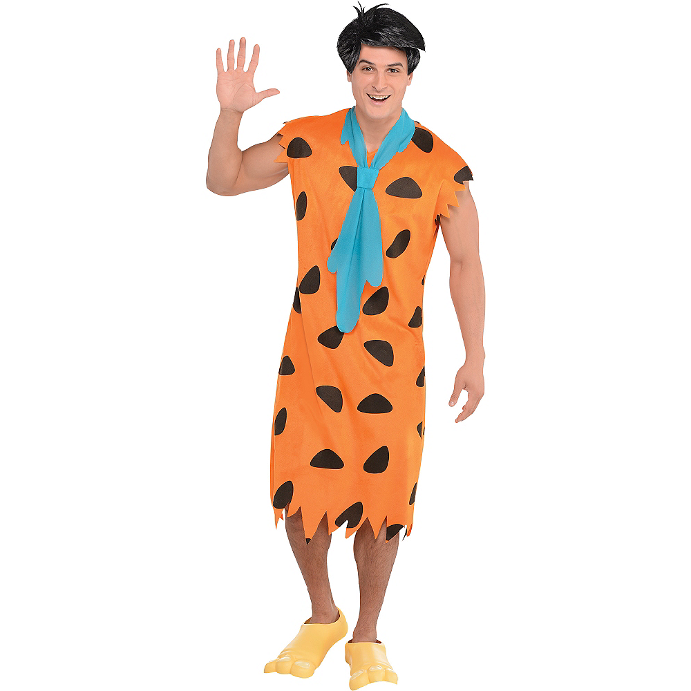 Adult Fred Flintstone Costume - The Flintstones Image #1