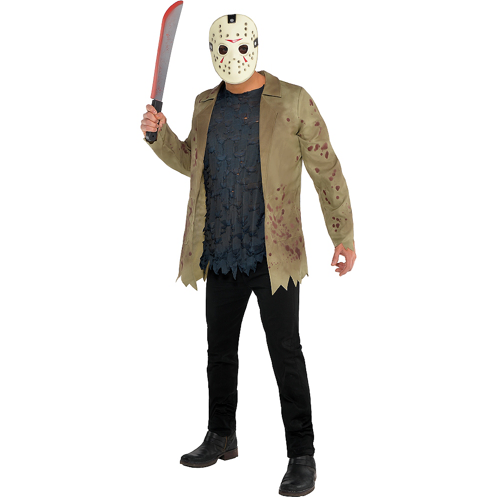 adult jason voorhees costume friday the 13th