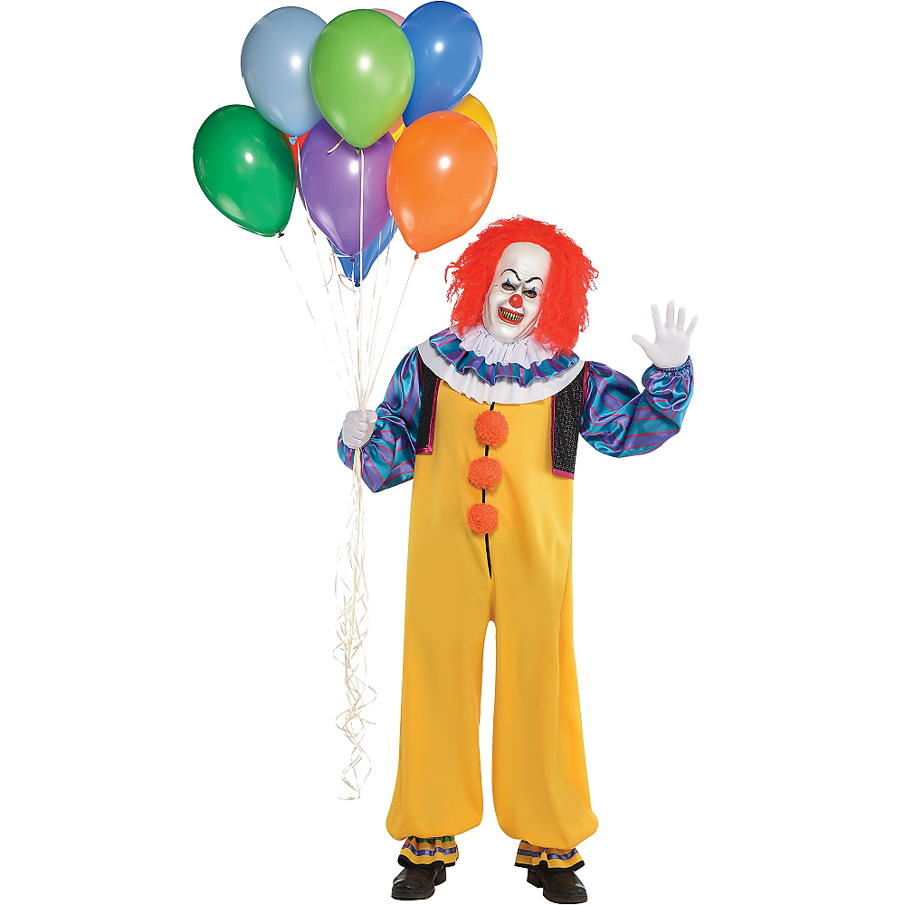 Nav Item for Adult Pennywise Costume - It Image #1