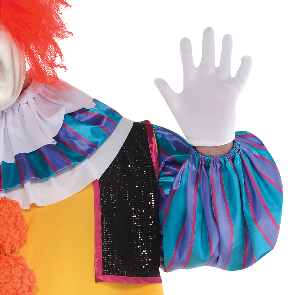 Adult Pennywise Costume Plus Size - It Image #4