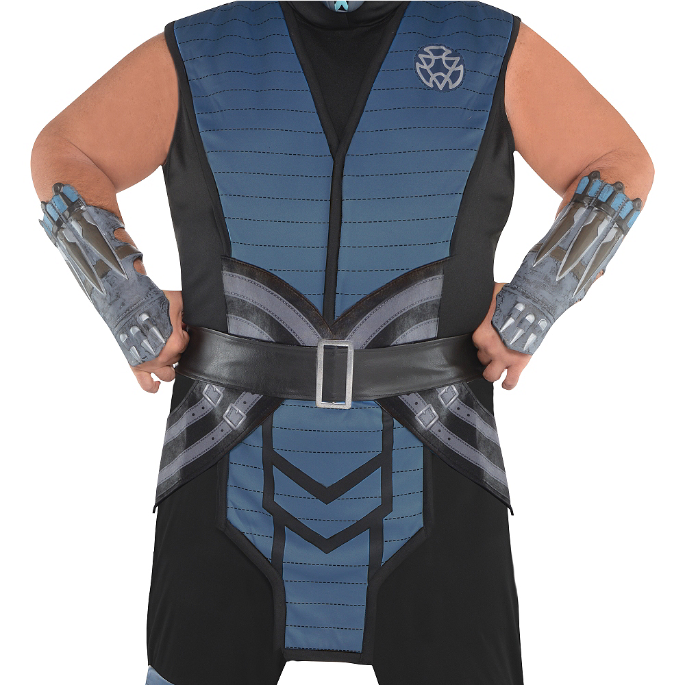 Nav Item for Adult Sub-Zero Costume Plus Size - Mortal Kombat Image #2