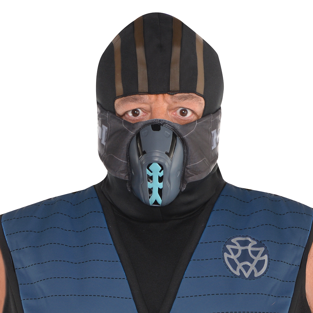 Nav Item for Adult Sub-Zero Costume Plus Size - Mortal Kombat Image #3