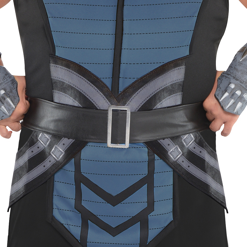 Nav Item for Adult Sub-Zero Costume Plus Size - Mortal Kombat Image #4