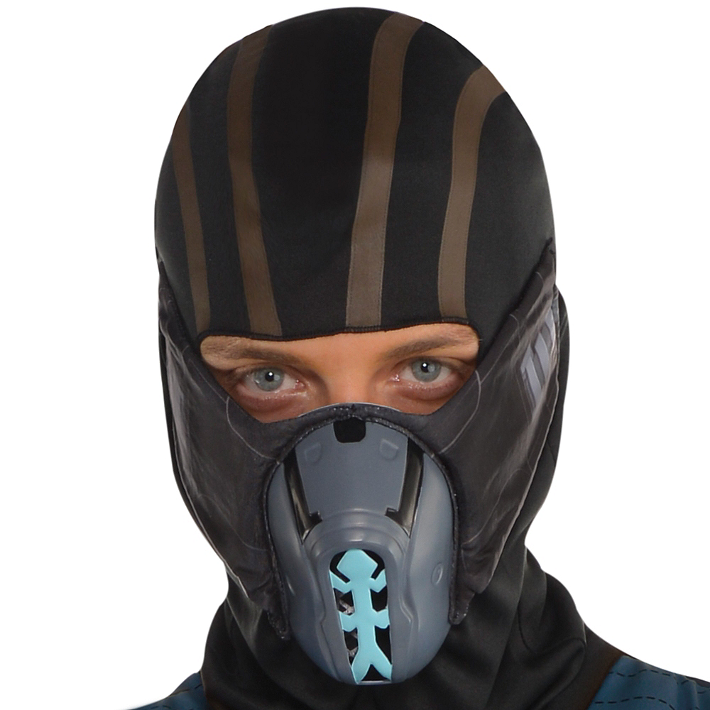 Nav Item for Adult Sub-Zero Costume - Mortal Kombat Image #2