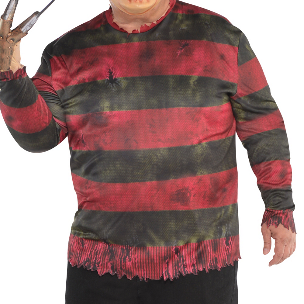 Nav Item for Adult Freddy Krueger Costume Plus Size - A Nightmare on Elm Street Image #2