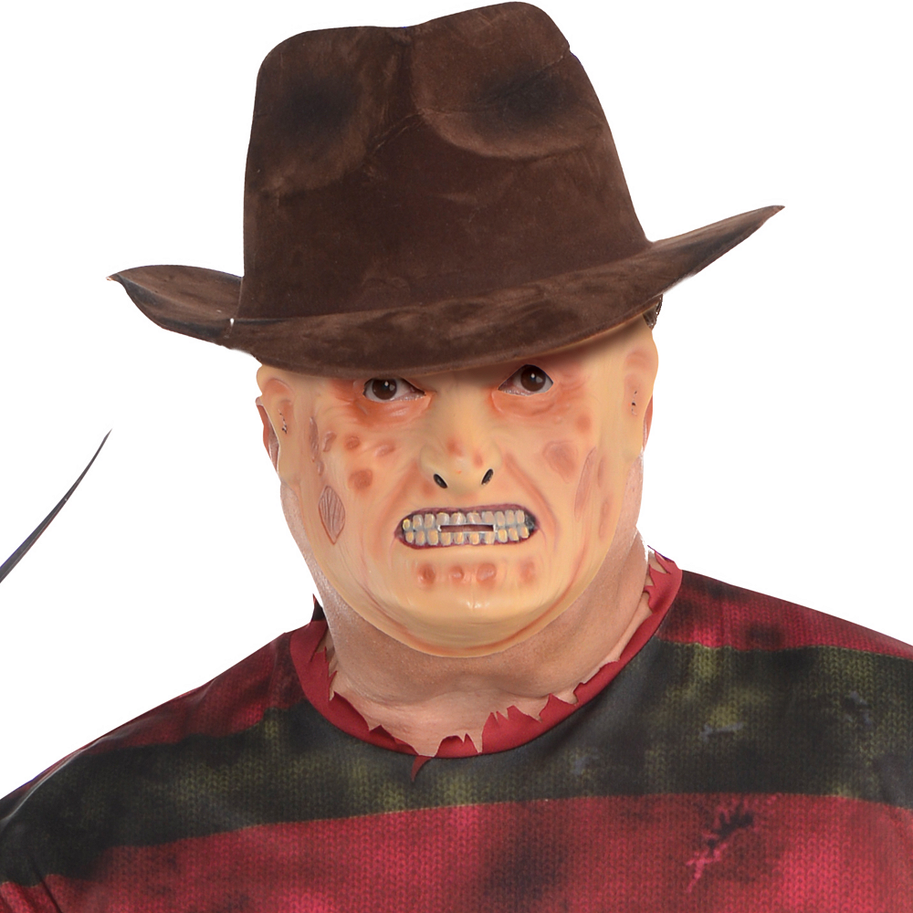 Nav Item for Adult Freddy Krueger Costume Plus Size - A Nightmare on Elm Street Image #3