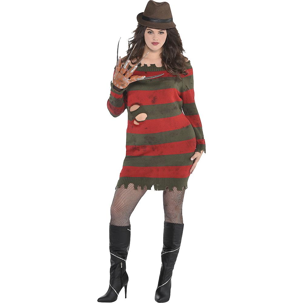 Adult Miss Krueger Costume Plus Size - A Nightmare on Elm Street Image #1
