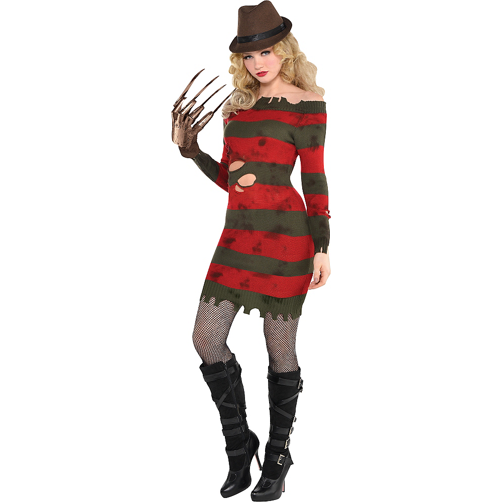 Nav Item for Adult Miss Krueger Costume - A Nightmare on Elm Street Image #1