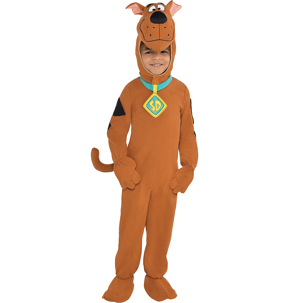 Toddler Boys Zipster Scooby-Doo One Piece Costume Image #1