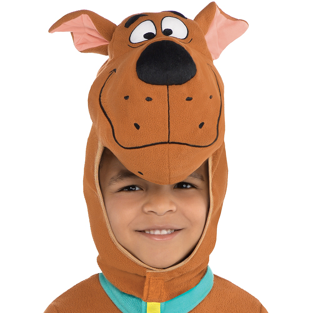 Toddler Boys Zipster Scooby-Doo One Piece Costume Image #2